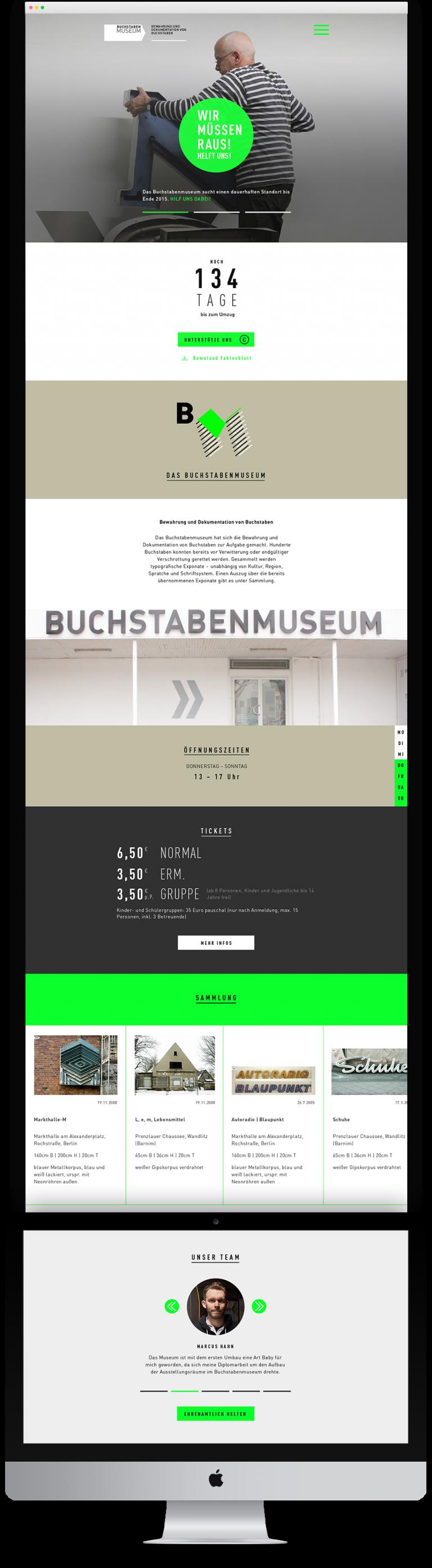 schmisalidt Website Buchstabenmuseum Berlin