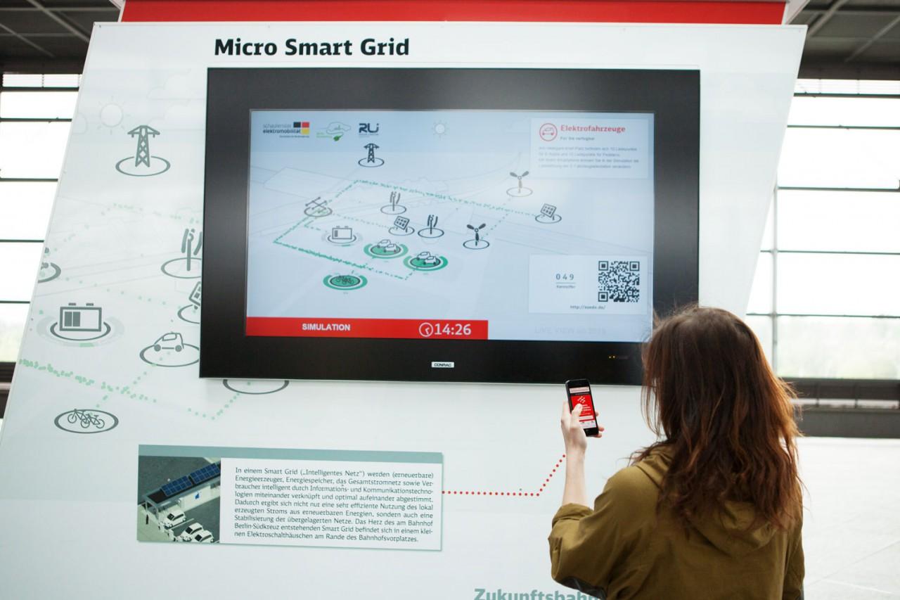 schmisalidt SmartGrid-Simulator am Südkreuz Berlin
