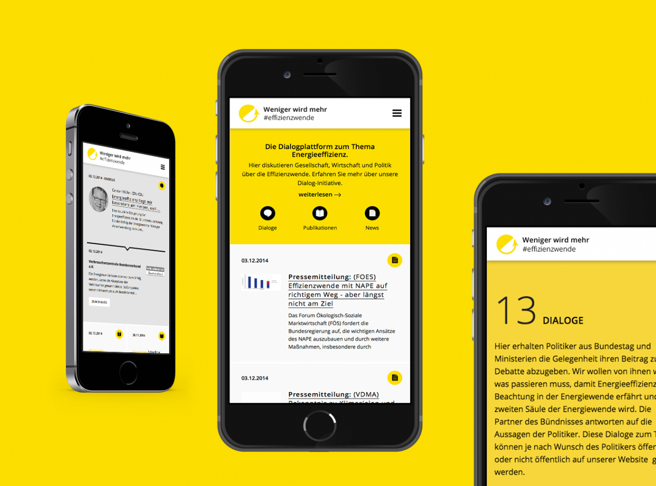 schmisalidt Online-Dialogplattform zur Effizienzwende